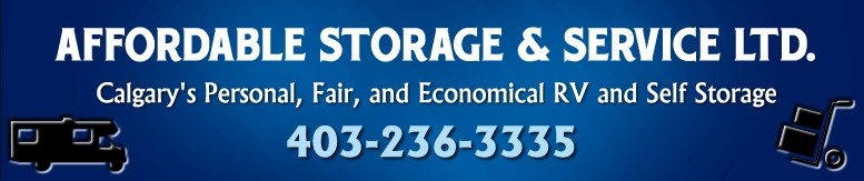 RV Storage Near Calgary